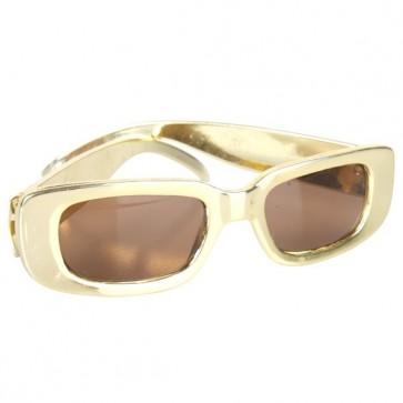 Gold cop glasses