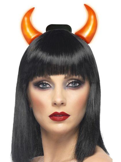 Light up devil horns