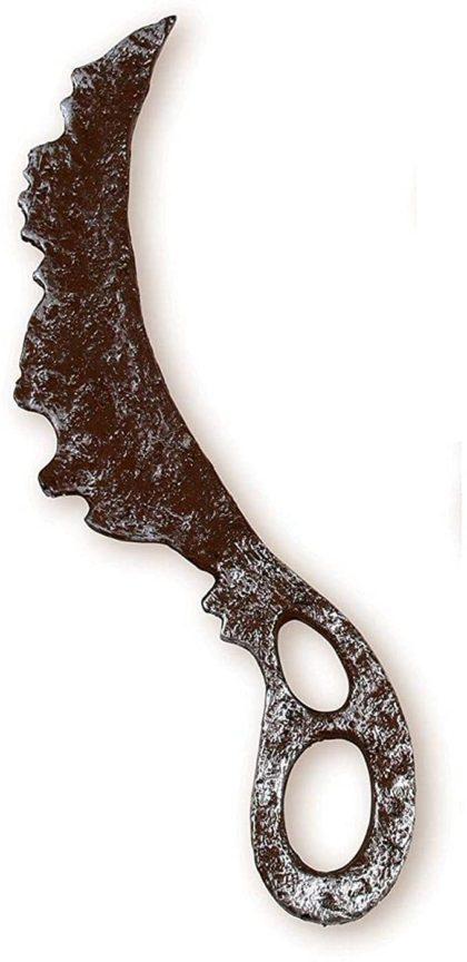 Zombie plastic knife