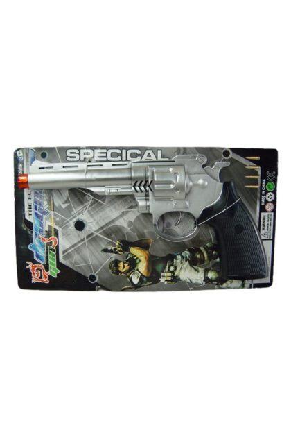 Toy police gun silver