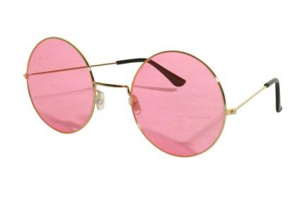 pink hippie glasses