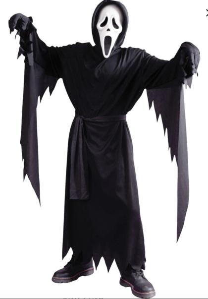 Ghostface costume child