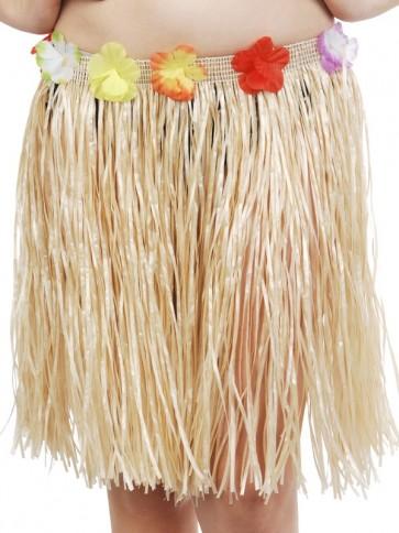 hawaiian skirt natural short