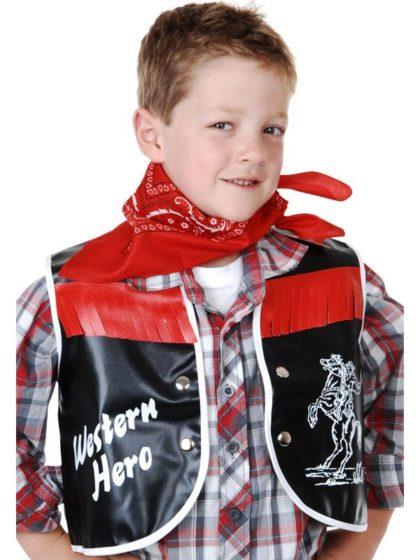 Cowboy vest child