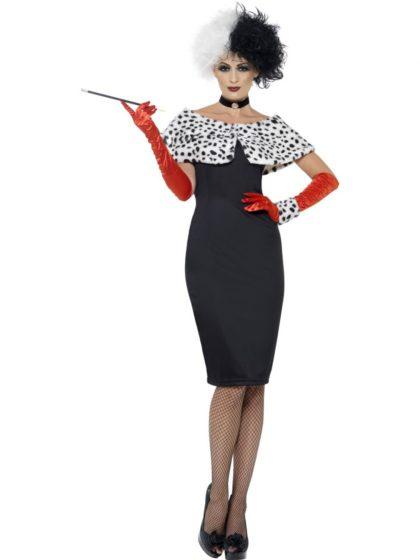Cruella costumeEvil madame Costume