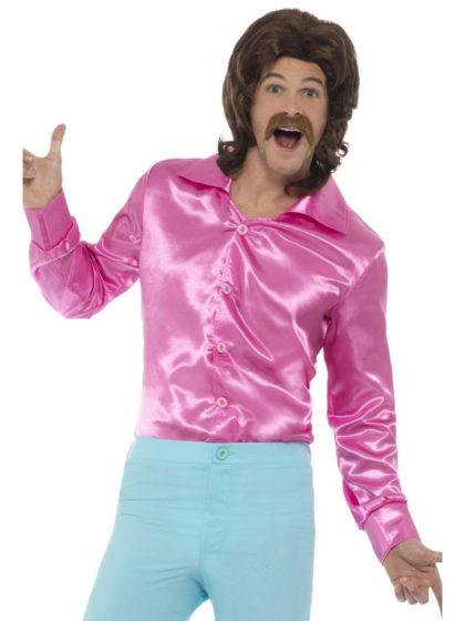 60s shirt pink