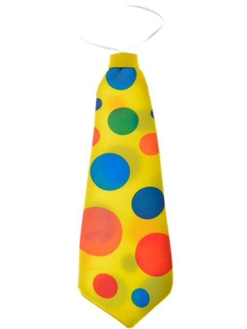 Giant clown tie