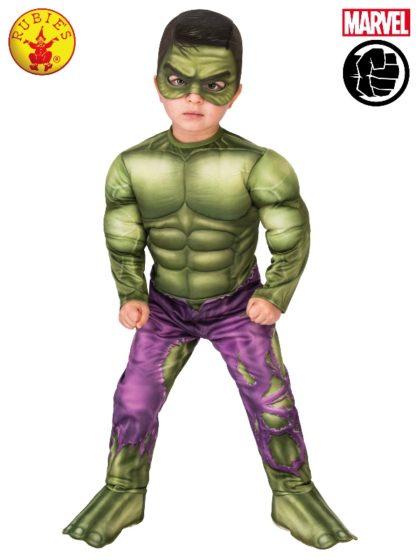 Toddler hulk costume