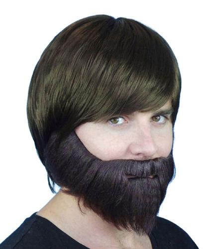 Carnival beard brown