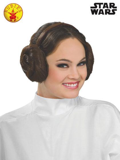 princess leia wig headband