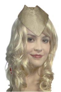 Khaki army cap
