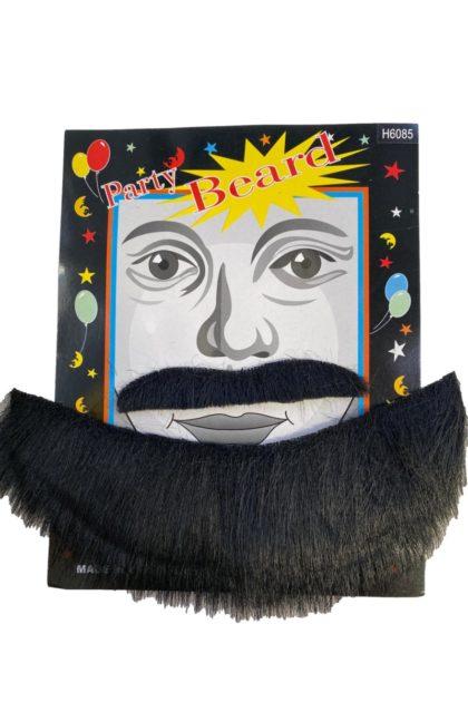 pirate chin beard and moustache