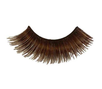 Brown natural eyelashes