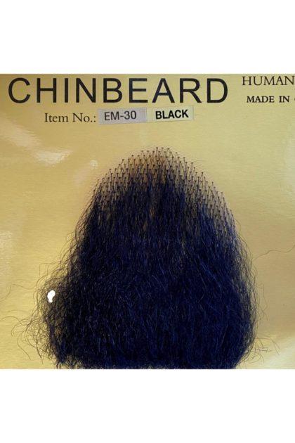faux Black chin beard