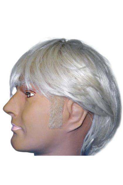 sideburns blonde