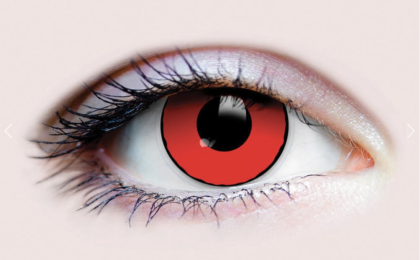 Blood eyes contact lens