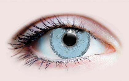 Charm Sapphire contact lenses