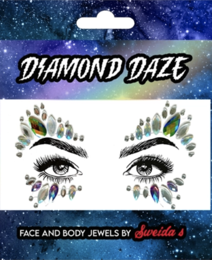 Face and body jewels