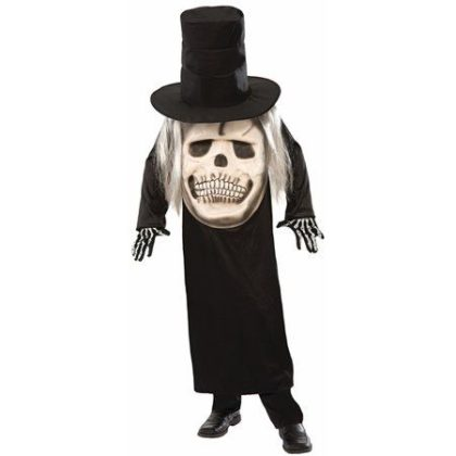 Big face reaper costume