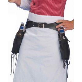 Double gun holster belt
