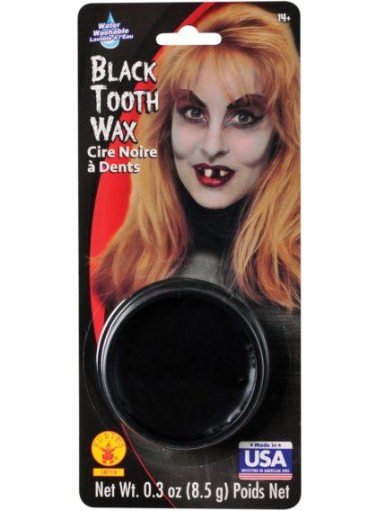 black tooth wax
