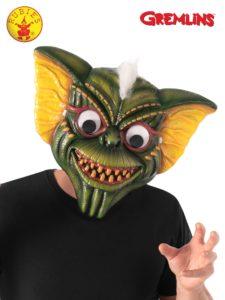 Stripe googly eyes mask