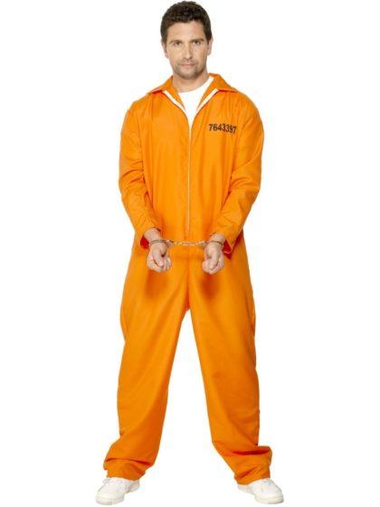 escaped prisoner Jailbird costume