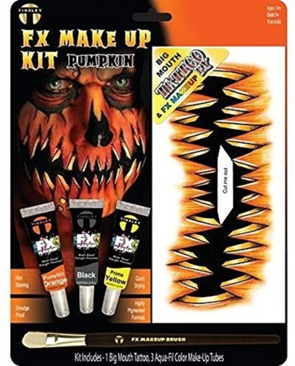 Big mouth fx makeup kit pumpkin