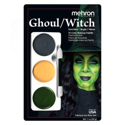Mehron tri colour ghoul witch makeup