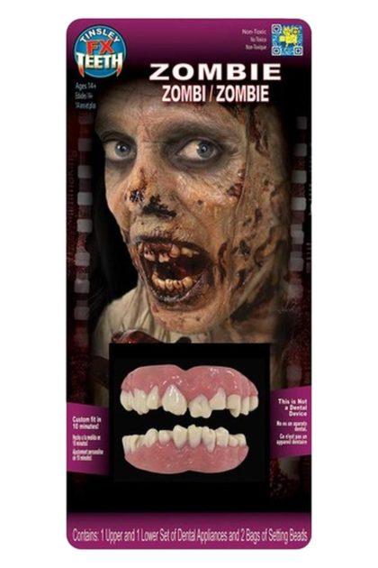 Tinsley tranfers zombie teeth