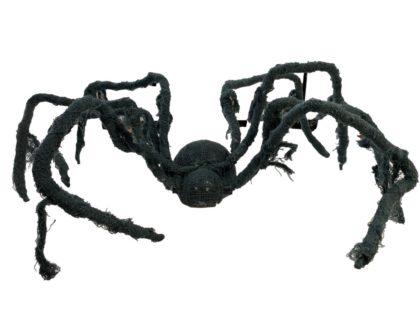 Dark grey spider posable large