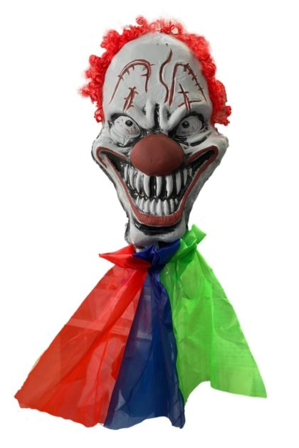 Jumbo clown Head decoration