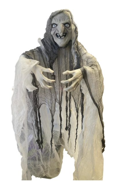 Ghostly Large witch halloween decoration