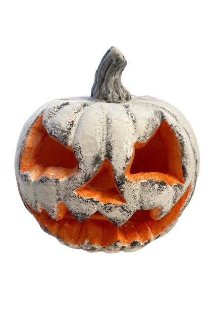 Whie pumpkin foam decoartion