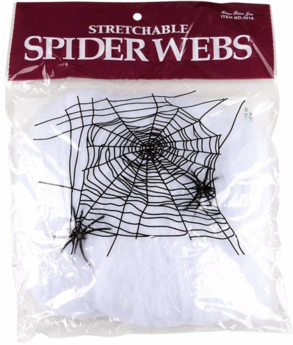 Stetchable spider web