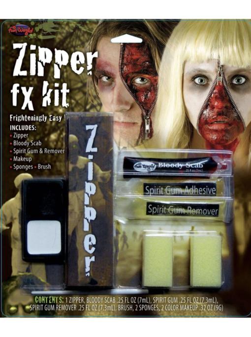 Zipper fx kit makeup