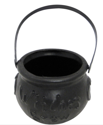 plastic withces brew cauldron