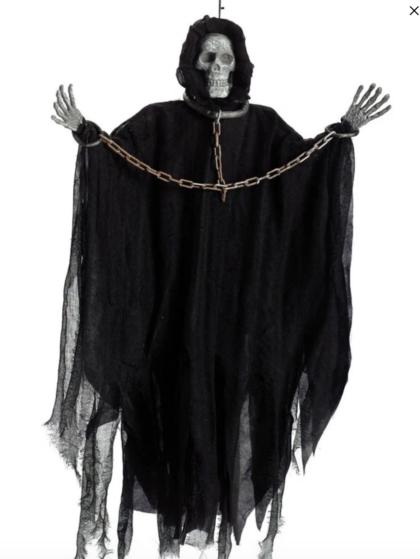 hanging grim reaper decoartions