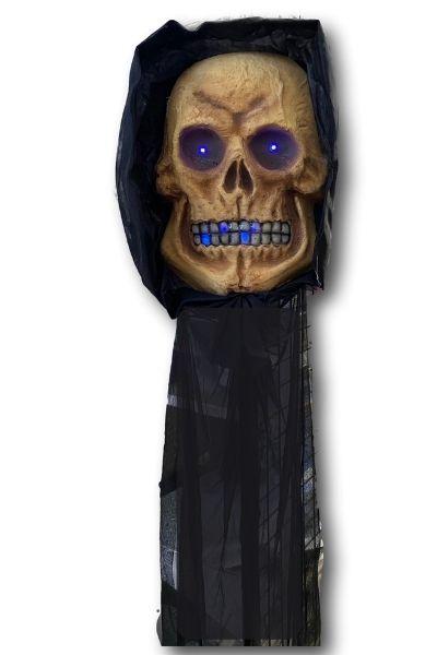 Large hanging skull decoration
