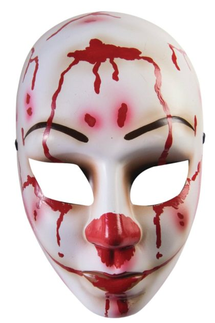 women's bloody mess purge mask