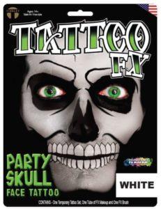 tinsley party skull makeup kit